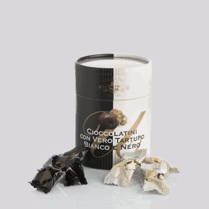 Cioccolatini al Tartufo Bianco e Nero